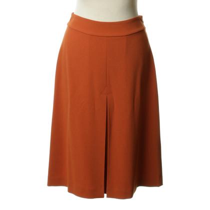 Diane von Furstenberg skirt in Orange