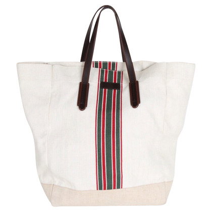 Gucci Tote bag in white/beige