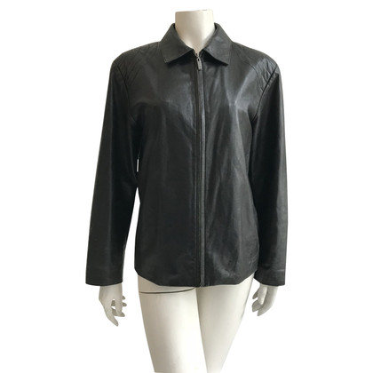 Balenciaga Leather jacket in black