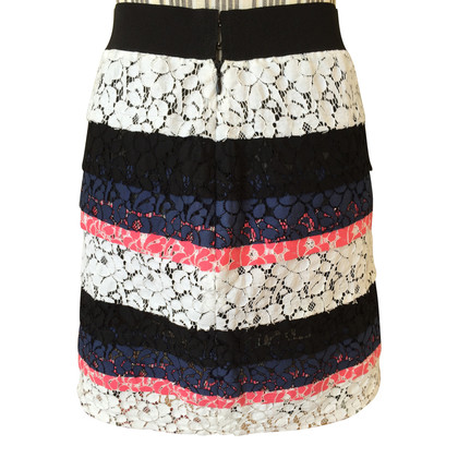 MSGM Lace mini skirt