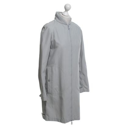 Chanel giacca antipioggia in grigio