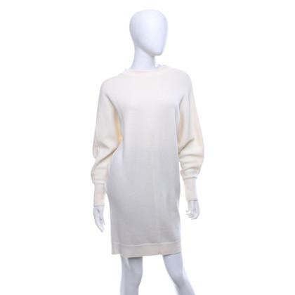 Maje Knit dress in cream white