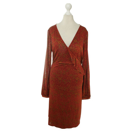 Antik Batik Wrap dress with pattern