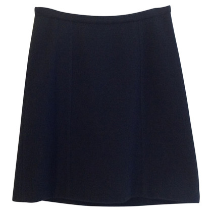 Max Mara Wool skirt in black