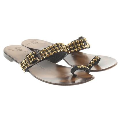 Giuseppe Zanotti Sandals in zwart