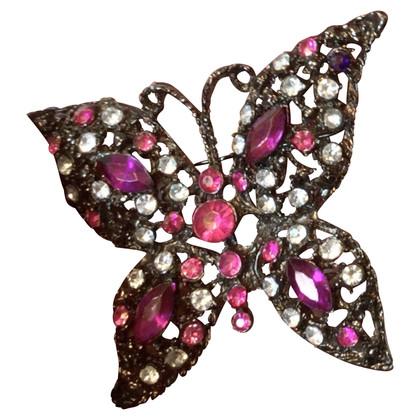 Valentino Butterfly brooch
