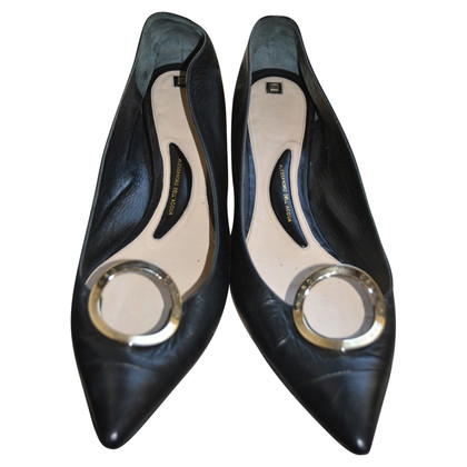 Alessandro Dell'Acqua Leather ballerina