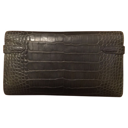 "Hermès ""Kelly Wallet Alligator Leather"""