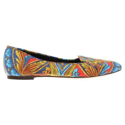 Dolce & Gabbana Slipper mit Motiv-Print