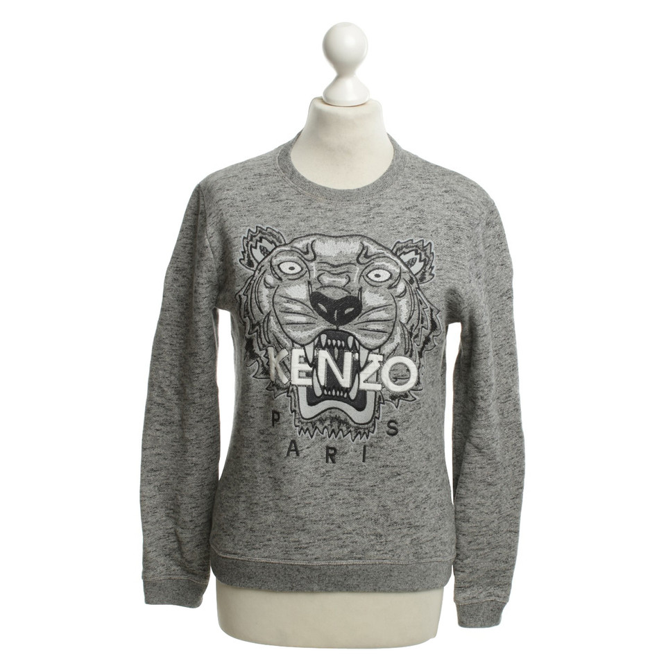 kenzo pullover mit motiv second hand kenzo pullover mit. Black Bedroom Furniture Sets. Home Design Ideas