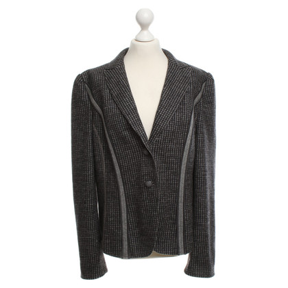 Marc Cain Wool blazer in gray