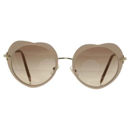 Miu Miu nude coloured Sunglasses