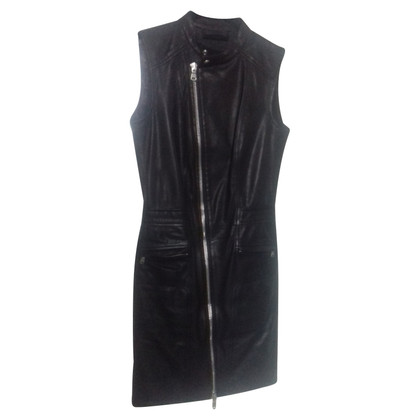 Diesel Black Gold leather dress