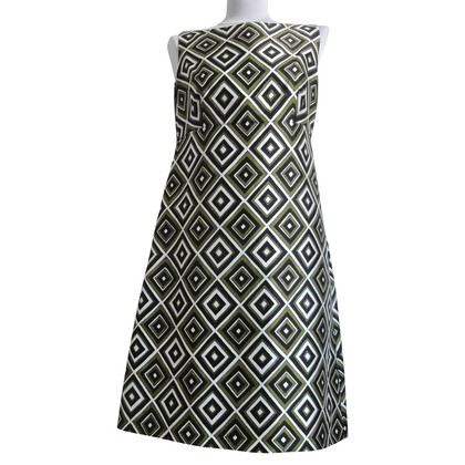 Prada Silk dress with geometric pattern