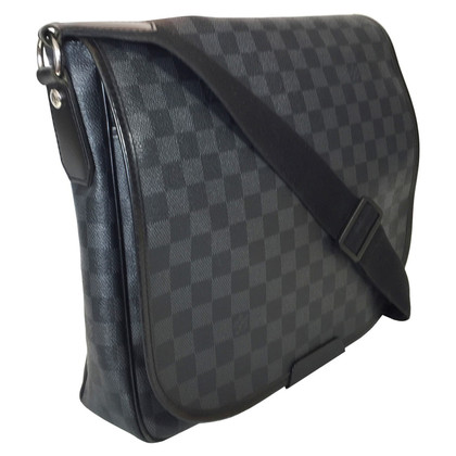 "Louis Vuitton ""Daniel MM Damier Graphite Canvas"""