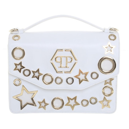 Philipp Plein Shoulder bag in white