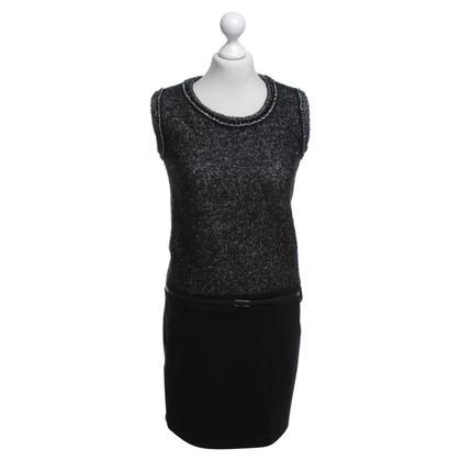 Twin-Set Simona Barbieri Dress in black and white