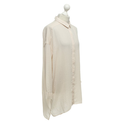 Cos Long blouse in cream