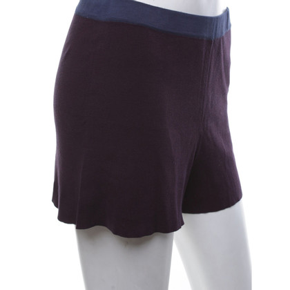 Stefanel Knitted shorts in bicolour