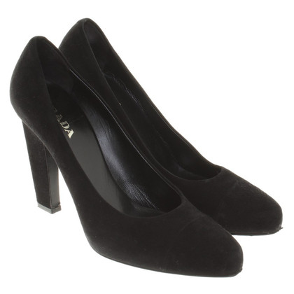 Prada pumps Suede