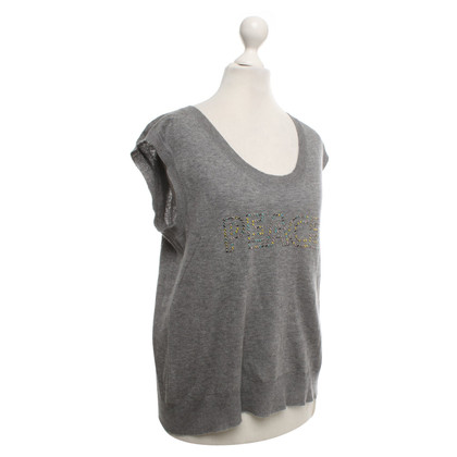 Zadig & Voltaire Knit top in grey
