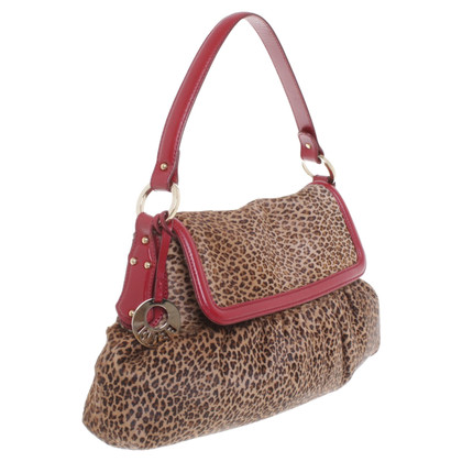 Fendi Handbag with leopard pattern