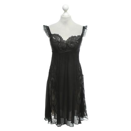 Karen Millen Dress in black / beige