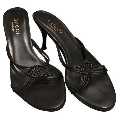 Gucci Gevlochten sandalen