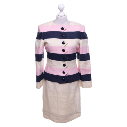 Valentino Dress and jacket in tricolor