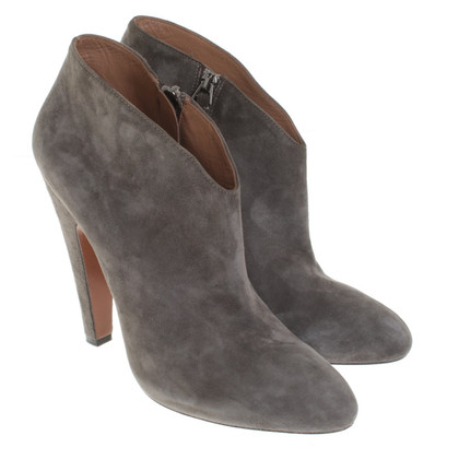 Alaïa Ankle boots in taupe
