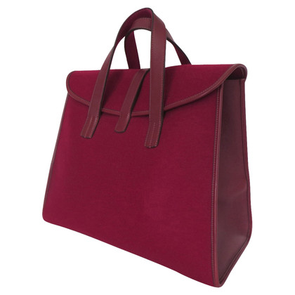 Hermès Handtasche aus Wollfilz