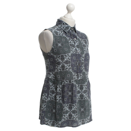 Equipment Bluse mit grafischem Print