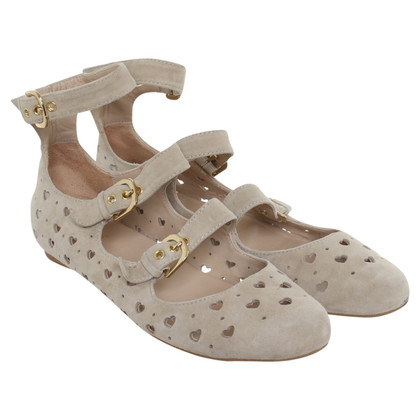 Moschino Love Sandalen in Beige