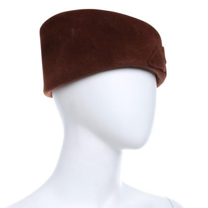 Jil Sander Hat made of velvet
