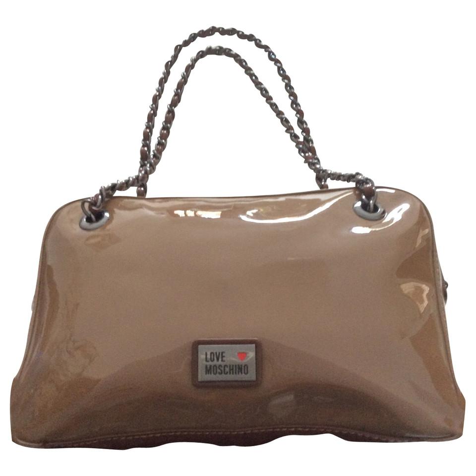 moschino love handtasche second hand moschino love handtasche gebraucht kaufen f r 150 00. Black Bedroom Furniture Sets. Home Design Ideas