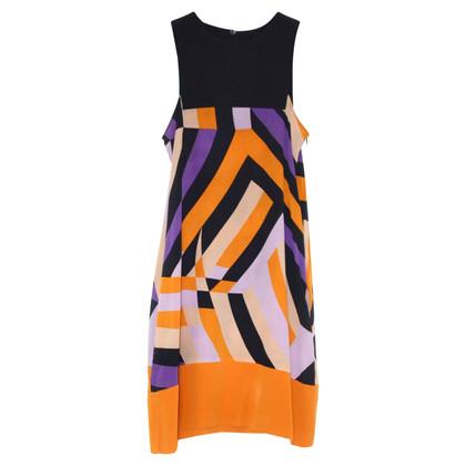 Missoni zijden jurk met patroon