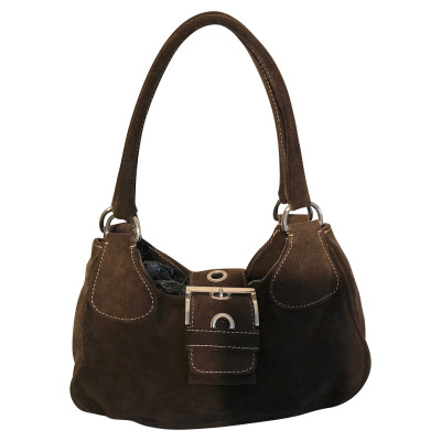 L.K. Bennett Brown Suede Handbag