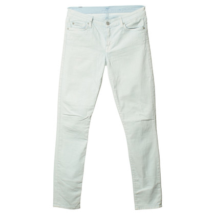 Seven 7 Skinny Jeans in Hellblau