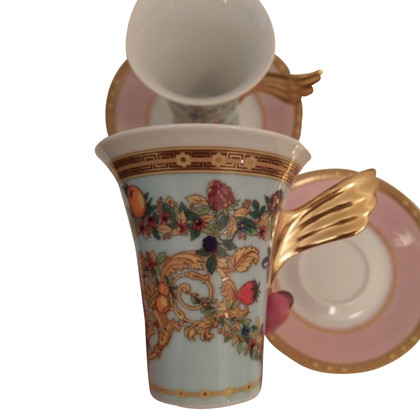 Versace 2 cups with saucer