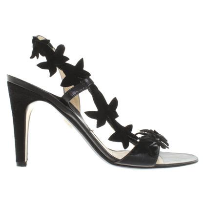 Pollini Sandalen in zwart