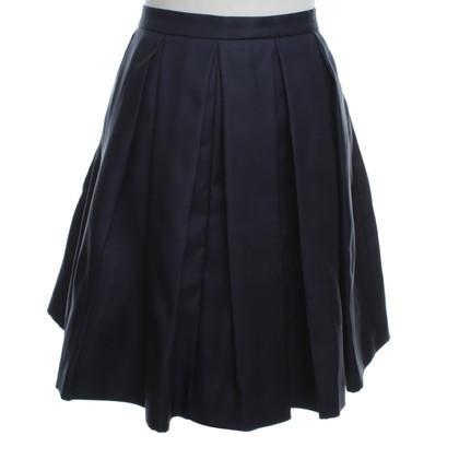 Burberry skirt in dark blue