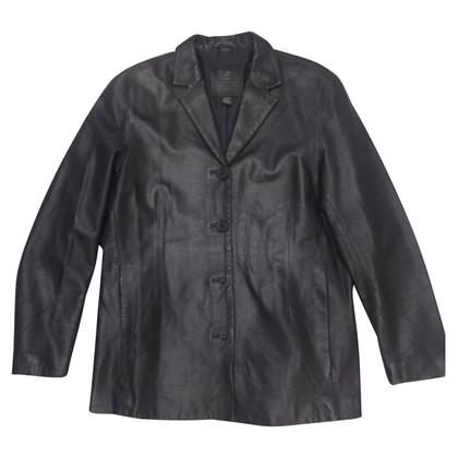 Coach Leather jacket in black