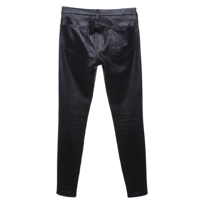 7 For All Mankind trousers in black