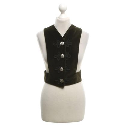 Dolce & Gabbana Vest in moss green
