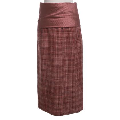 Etro Checkered skirt