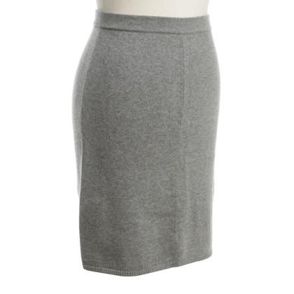 Iris von Arnim Cashmere knit skirt