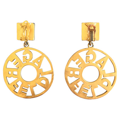 Karl Lagerfeld Golden earrings