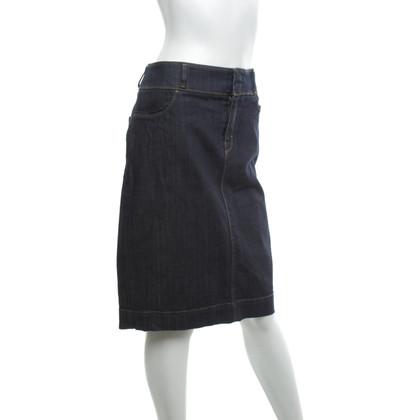 Hugo Boss Denim skirt in blue