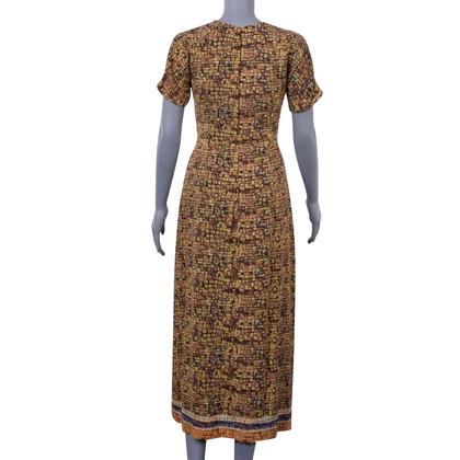 Dolce & Gabbana Schede jurk met mozaïekprint