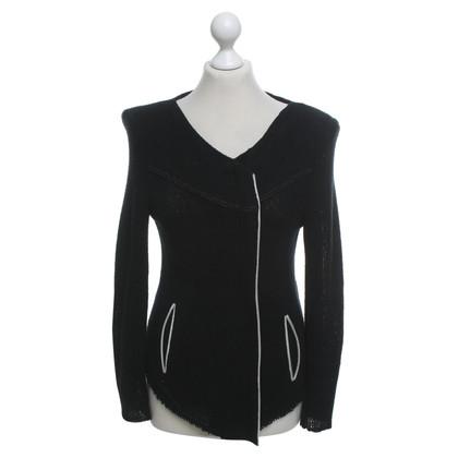 Iro Short jacket in black